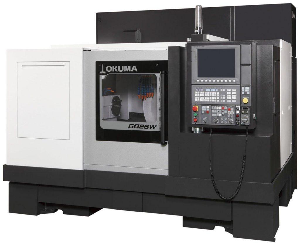 mașini cnc rectificare cilindrică - Okuma GP/GA25W