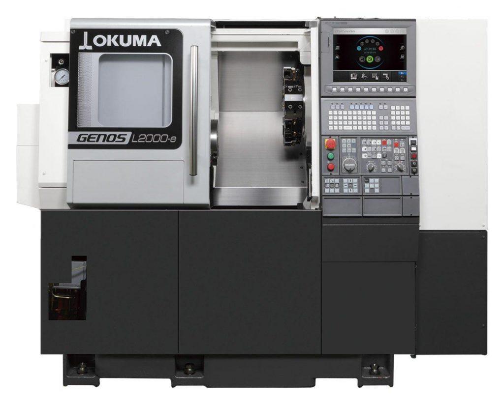 Strunguri CNC orizontale - Okuma GENOS seria L