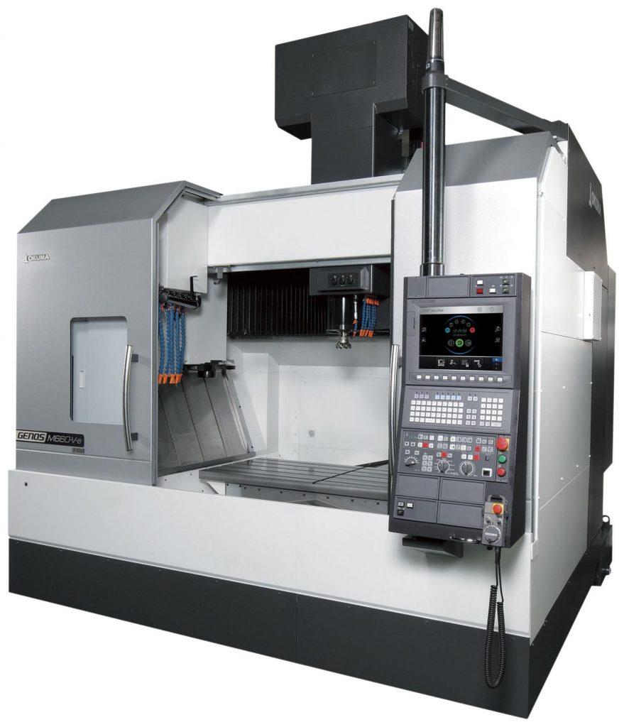 Centre Verticale CNC în 3 axe GENOS M660-VE
