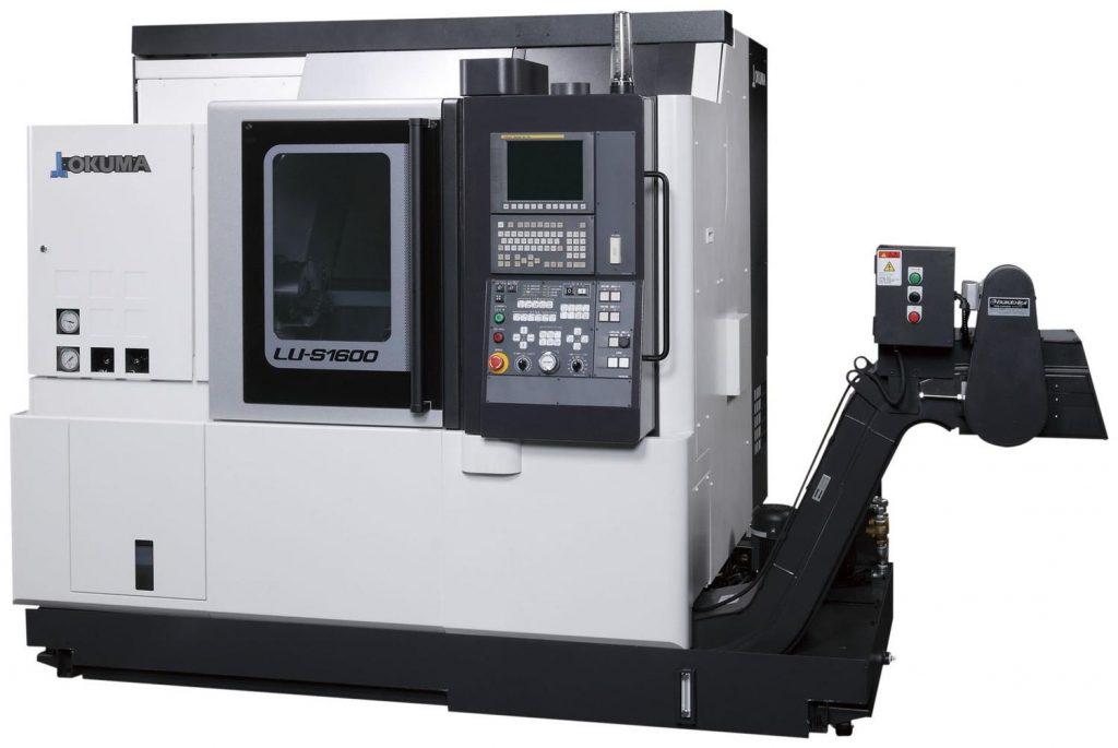 Strung CNC cu două turele Okuma LU-S1600