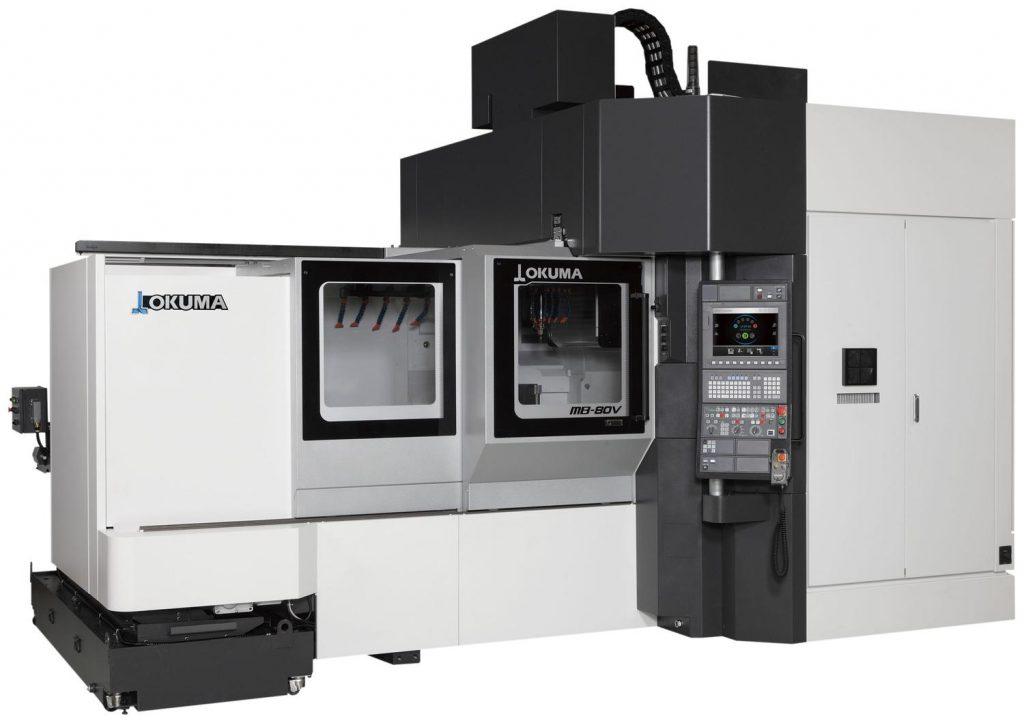 Centru prelucrare CNC vertical Okuma MB-80V
