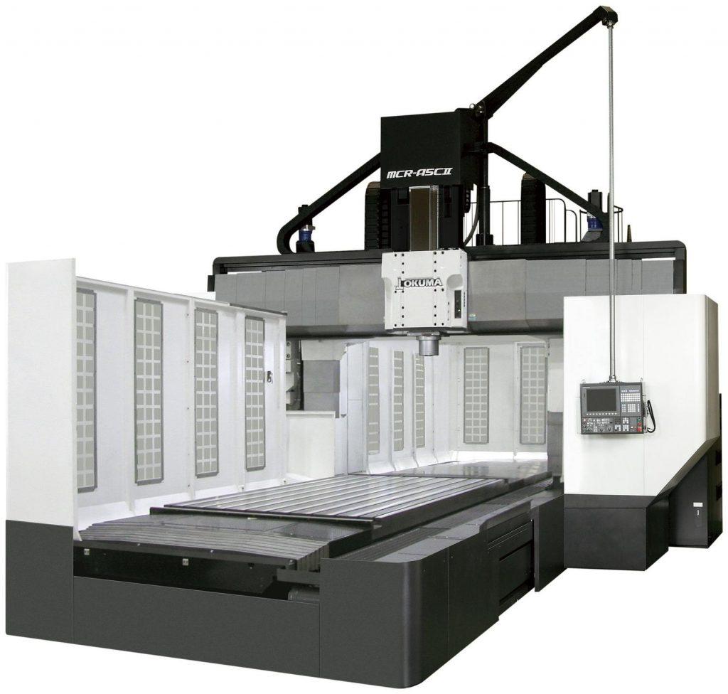 Centre de prelucrare CNC dublă coloană - Okuma Seria MCR