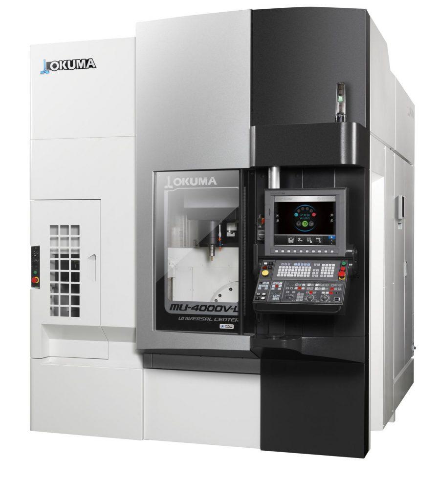 OKUMA MU-4000V-L / Centru prelucrare CNC universal