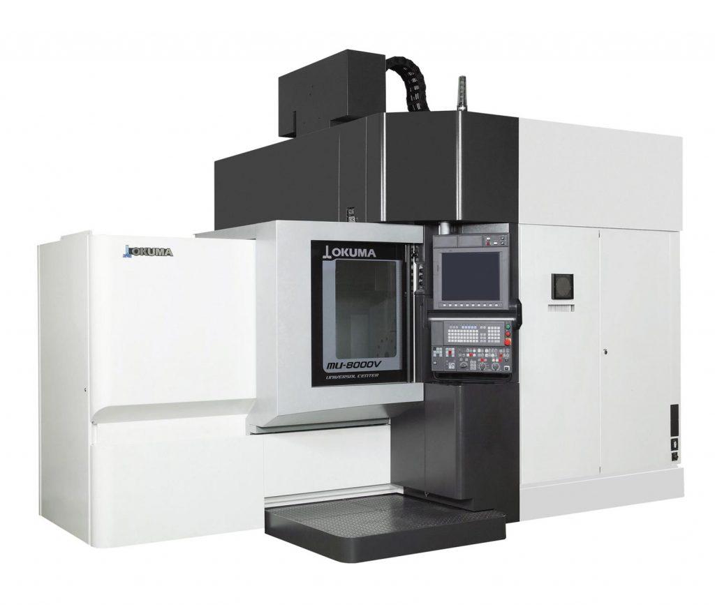 centru prelucrare în 5 axe - OKUMA MU-8000V