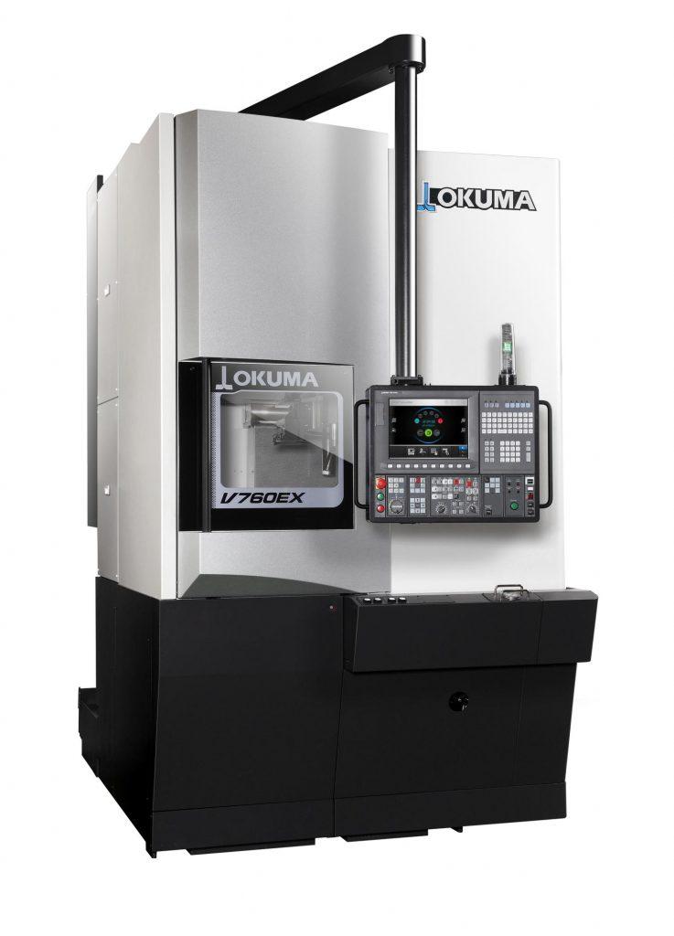 strunguri CNC vertical Okuma - Seria V