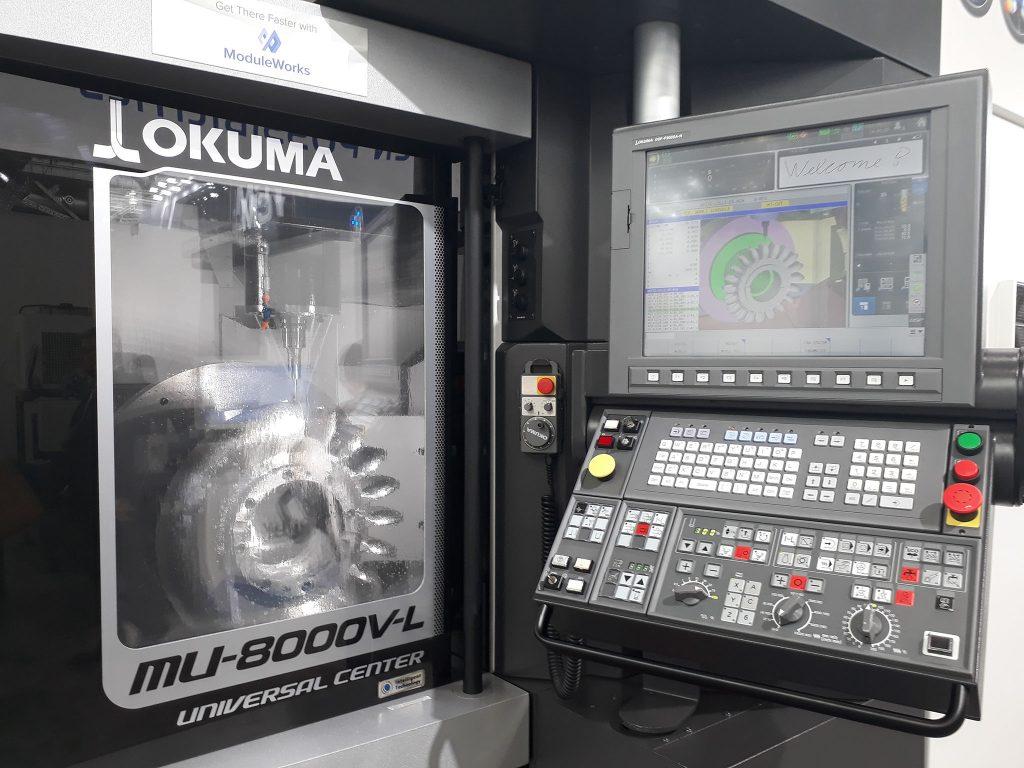 mașini unelte cu comandă numerică în 5 axe - Okuma
