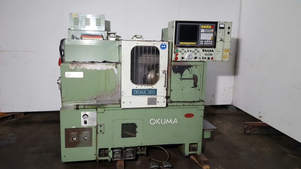Primele modele de strunguri CNC okuma