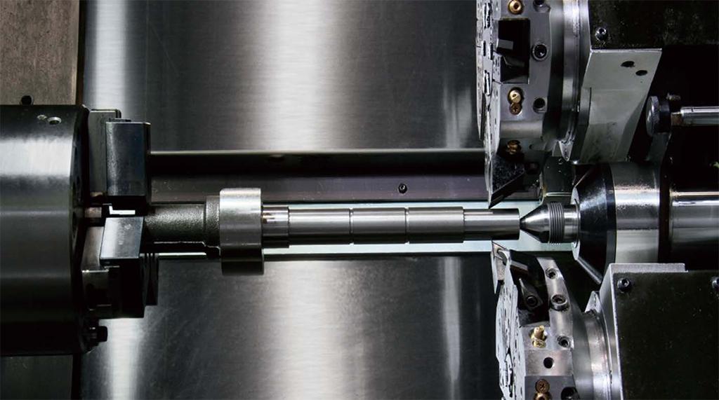 Strung CNC cu două turele Okuma LU S1600, timpi de execuție mici - 1min28sec