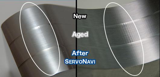 calitate superioară a suprafețelor prelucrate SERVONAVI - comparație