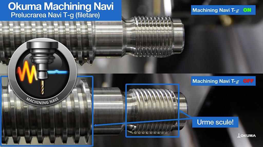 Prelucrarea Navi T-g (filetare)