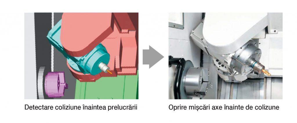 Sistem anti-coliziune mașini CNC - Prevenție coliziuni în mod manual de operare