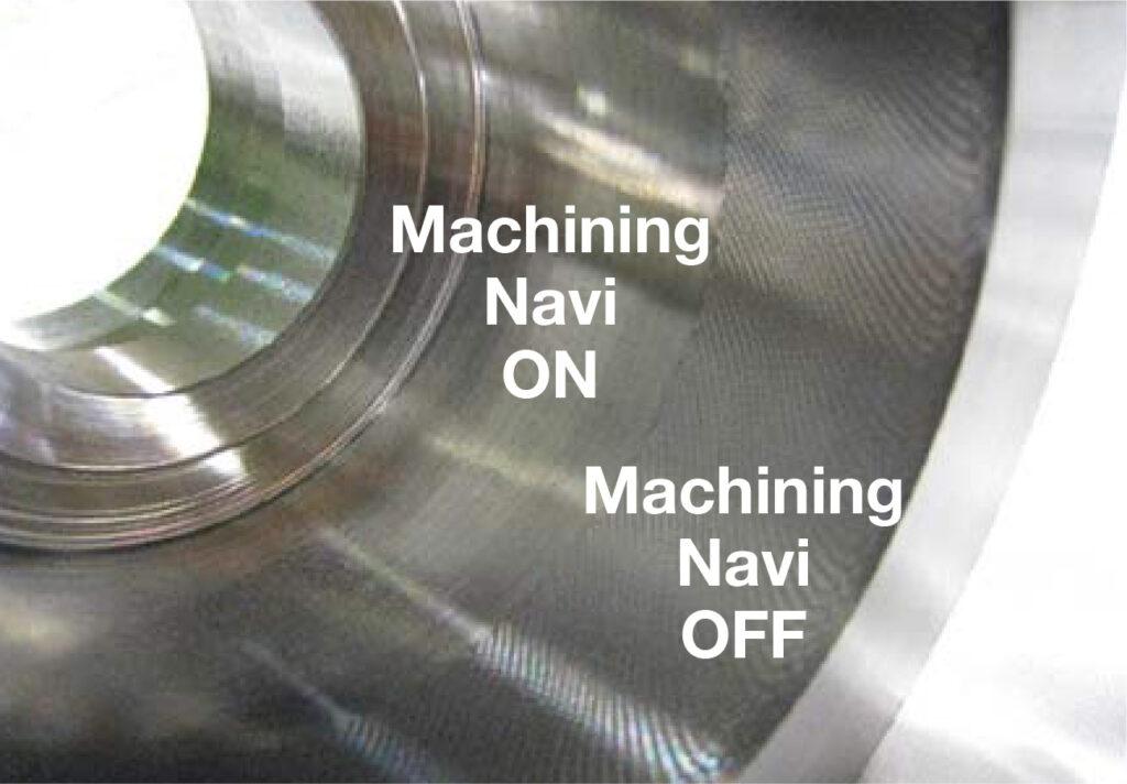 Condiții optime așchiere - comparație fără și cu Machining Navi